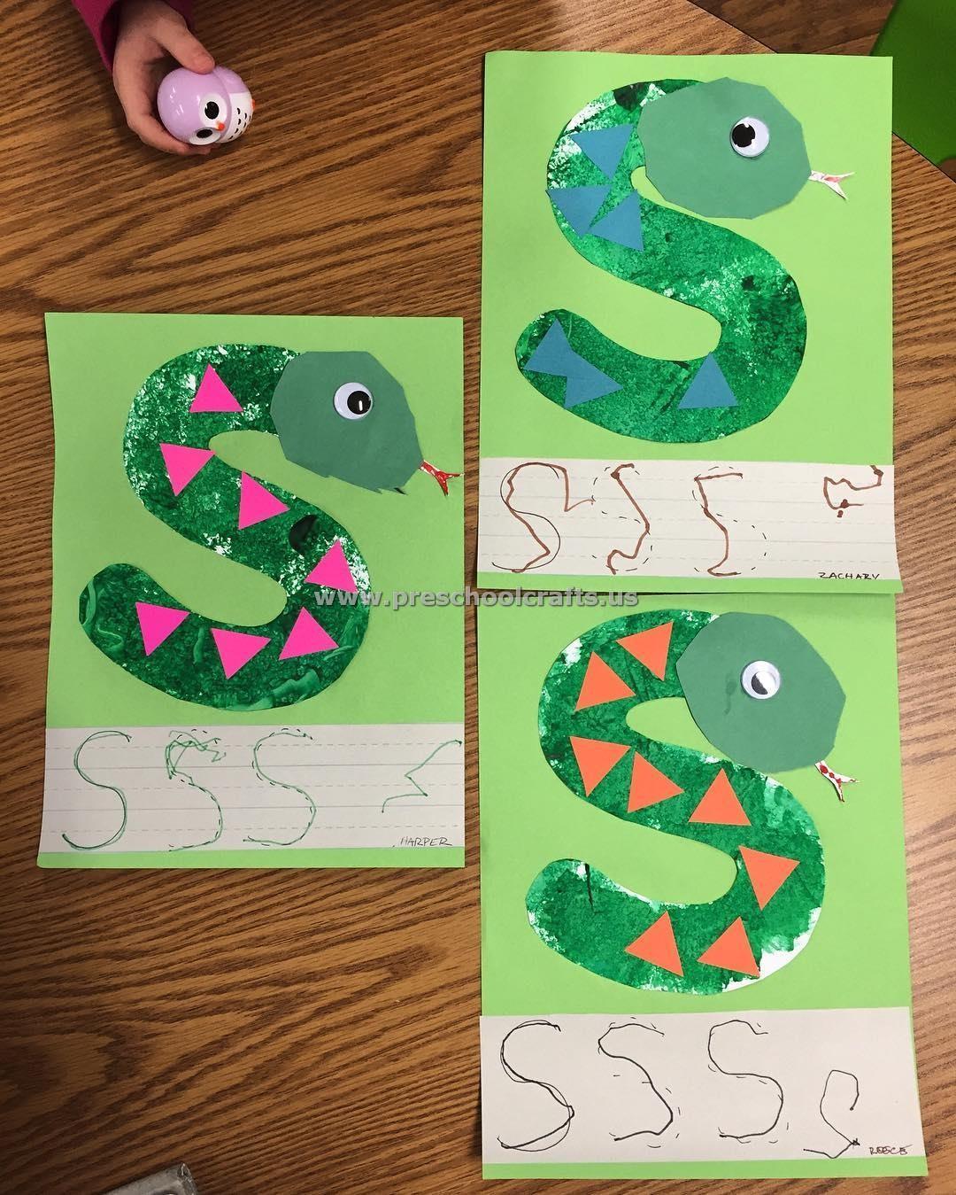 Letter s crafts for preschool enjoy preschool crafts for Letter k crafts for toddlers