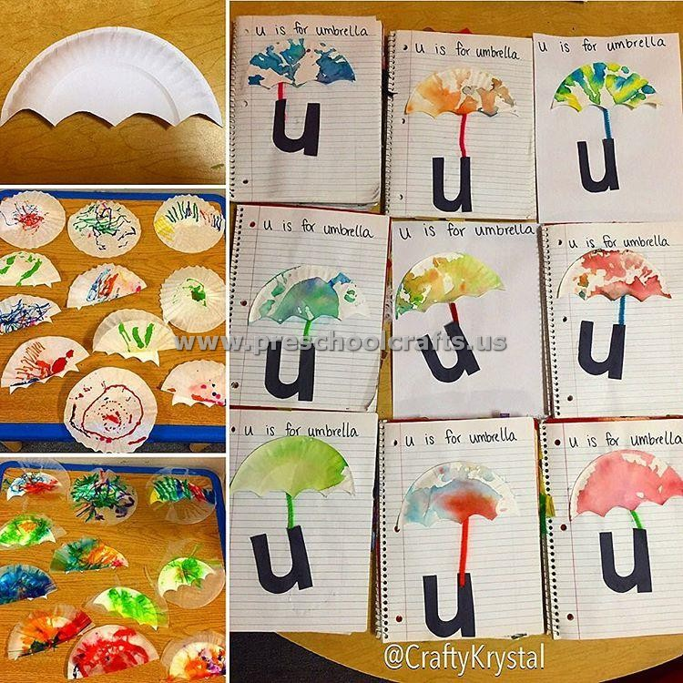 Letter u crafts for preschool preschool crafts for Arts and craft letters
