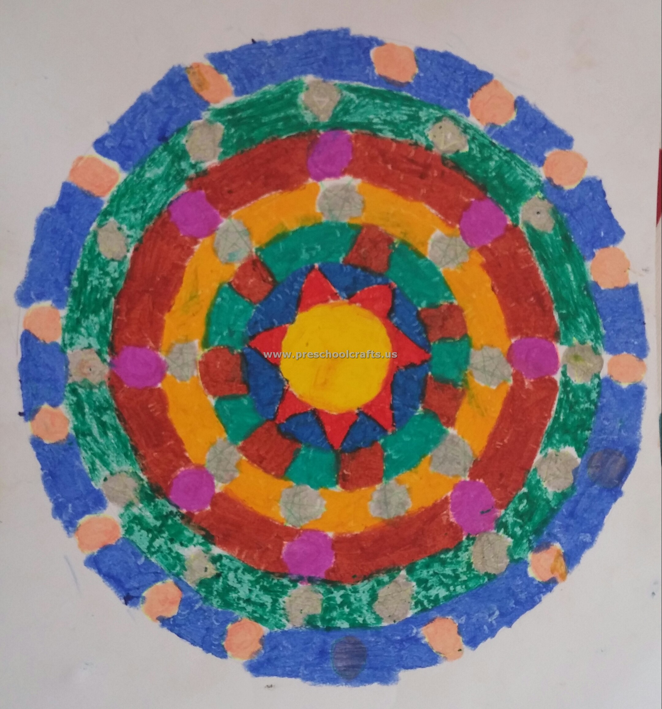 Coloring art activities - Mandala Art Activities Coloring Art Activities