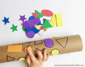 shapes-activity-on-paper-roll
