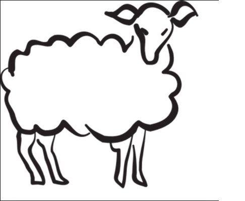 sheep coloring pages for preschool free coloring page Preschool