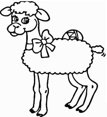 free printable sheep coloring pages   sheep-coloring-pages-for-preschool-free-printable-coloring ...