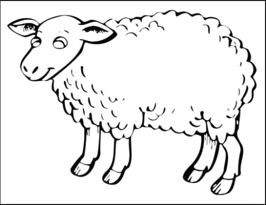 sheep coloring pages for preschool free printable coloring pages