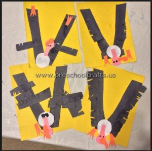 vulture-crafts-ideas-for-kindergarten