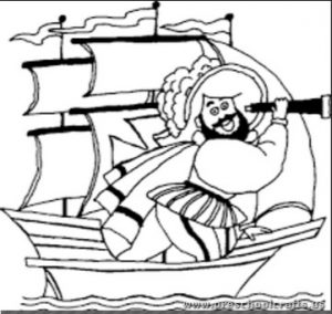 christopher-columbus-day-coloring-page-preschool
