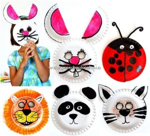 animal-mask-craft-from-paper-plate