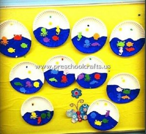 aquarium-craft-from-paper-plate