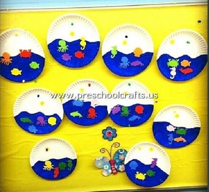 Paper Plate Craft Ideas for Kids - Preschool and Kindergarten