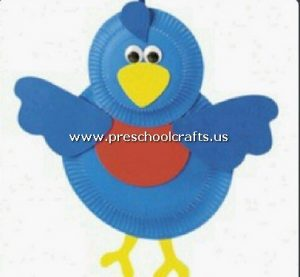 chicken-craft-from-paper-plate-for-preschool