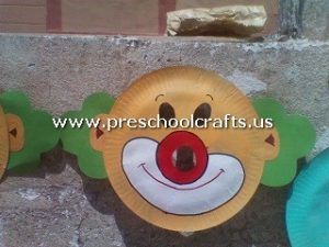 clown-craft-from-paper-plate