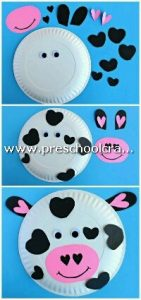 cow-craft-from-paper-plate