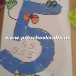 cut-and-paste-number-5-craft-ideas