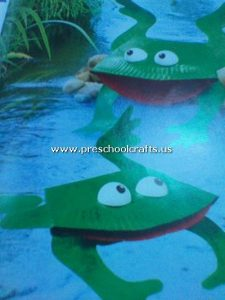cute-frog-craft-from-paper-plate