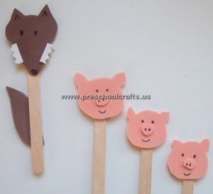 pig crafts for kid