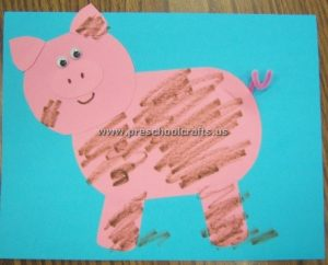 pig crafts for kids