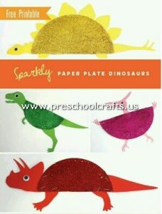 dinasour-craft-from-paper-plate