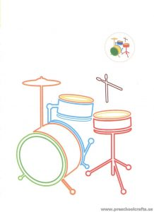 drum-coloring-pages-for-preschool