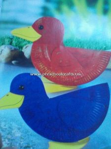 duck-craft-from-paper-plate-for-preschool