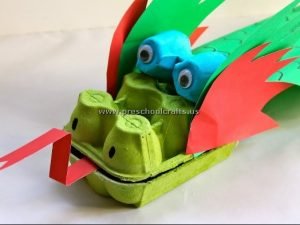 egg-box-dragon-crafts-ideas