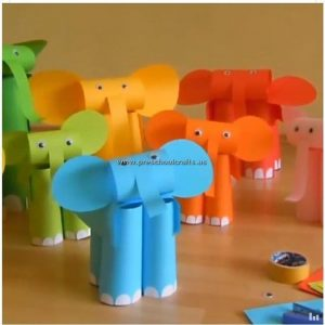 elephant-craft-paper-craft
