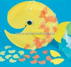 fish-craft-from-paper-plate