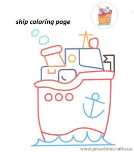 free-ship-coloring-pages-for-preschool