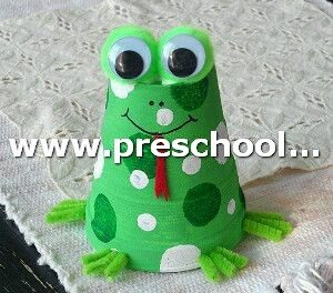 frog-craft-from-paper-cup