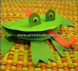 frog-craft-from-paper-plate-for-preschoolers