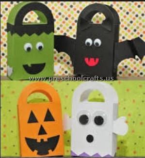 halloween-crafts-ideas-for-kindergarten - Preschool Crafts