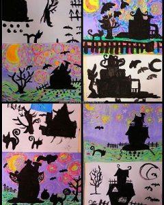 halloween-crafts-kindergarten