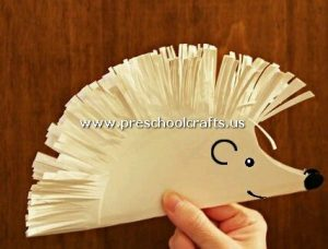 hedhegog-craft-from-paper-plate
