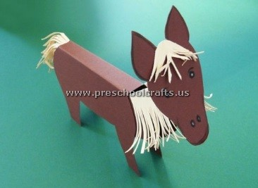 Horse craft idea for first grade preschool crafts for Horse crafts for kids