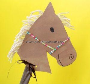 Funny horse crafts ideas for kids preschool and kindergarten for Horse crafts for kids