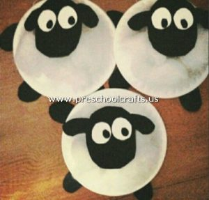 lamb-craft-from-paper-plate