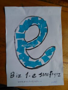 letter-e-crafts-idea-for-kids