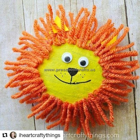 lion-crafts-ideas-for-kids - Preschool Crafts