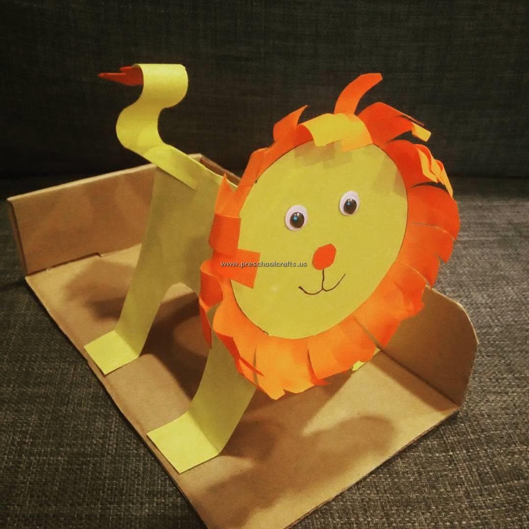 lion crafts ideas for preschool preschool crafts