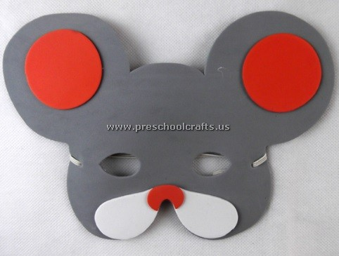 Mouse Mask Crafts Ideas For Kindergarten