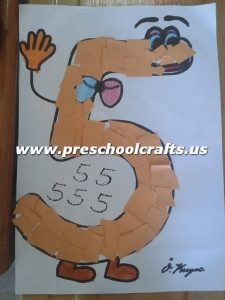 number-5-crafts-for-preschool