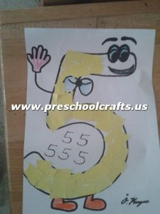 number-5-cut-and-paste-craft-ideas-for-kids