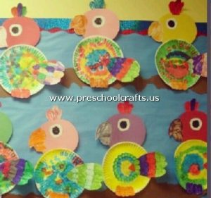 parrot-craft-from-paper-plate
