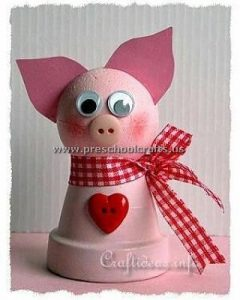 pig crafts ideas for first grade