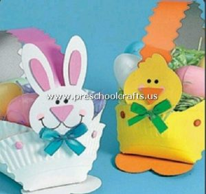 rabbit-and-chicken-craft-from-paper-plate