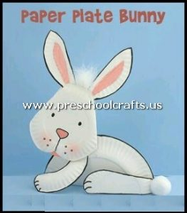 rabbit-craft-from-paper-plate