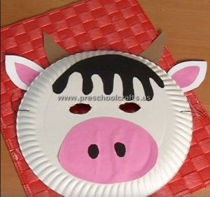 pig craft idea for first grade