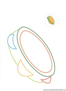tambourine-coloring-pages-for-preschool