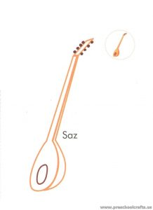 turkish-musical-instrument-saz-coloring-pages-for-preschool