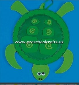 turtle-craft-from-paper-plate-for-kindergarten