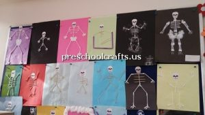 skeleton-bulletin-board-for-primary-school