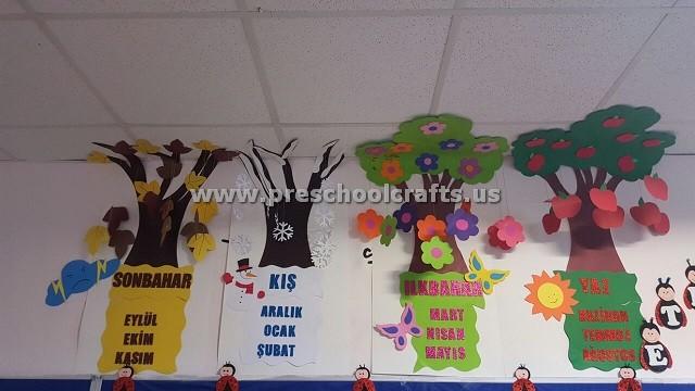 Seasons Craft Ideas for Preschool